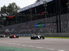 GP ITALIA, 02.09.2018 - Gara, Valtteri Bottas (FIN) Mercedes AMG F1 W09 davanti a Kimi Raikkonen (FIN) Ferrari SF71H
