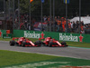 GP ITALIA, 02.09.2018 - Gara, Start of the race, Kimi Raikkonen (FIN) Ferrari SF71H e Sebastian Vettel (GER) Ferrari SF71H