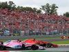 GP ITALIA, 02.09.2018 - Gara, Sergio Perez (MEX) Racing Point Force India F1 VJM11 e Sebastian Vettel (GER) Ferrari SF71H