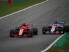 GP ITALIA, 02.09.2018 - Gara, Sebastian Vettel (GER) Ferrari SF71H e Sergio Perez (MEX) Racing Point Force India F1 VJM11