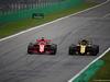 GP ITALIA, 02.09.2018 - Gara, Sebastian Vettel (GER) Ferrari SF71H e Carlos Sainz Jr (ESP) Renault Sport F1 Team RS18