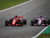 GP ITALIA, 02.09.2018 - Gara, Sebastian Vettel (GER) Ferrari SF71H e Esteban Ocon (FRA) Racing Point Force India F1 VJM11