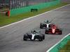 GP ITALIA, 02.09.2018 - Gara, Valtteri Bottas (FIN) Mercedes AMG F1 W09 e Kimi Raikkonen (FIN) Ferrari SF71H