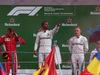 GP ITALIA, 02.09.2018 - Gara, 1st place Lewis Hamilton (GBR) Mercedes AMG F1 W09, 2nd place Kimi Raikkonen (FIN) Ferrari SF71H e 3rd place Valtteri Bottas (FIN) Mercedes AMG F1 W09