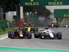 GP ITALIA, 02.09.2018 - Gara, Daniel Ricciardo (AUS) Red Bull Racing RB14 e Charles Leclerc (MON) Sauber C37