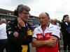 GP ITALIA, 02.09.2018 - Gara, Christian Dyer (AUS), Renault Sport F1 Team e Frederic Vasseur (FRA) Sauber Team Principal