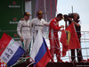 GP ITALIA, 02.09.2018 - Gara, 3rd place Valtteri Bottas (FIN) Mercedes AMG F1 W09, Lewis Hamilton (GBR) Mercedes AMG F1 W09 vincitore e 2nd place Kimi Raikkonen (FIN) Ferrari SF71H