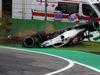 GP ITALIA, 31.08.2018 - Free Practice 2, Crash, Marcus Ericsson (SUE) Sauber C37