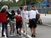 GP ITALIA, 31.08.2018 - Free Practice 2, Marcus Ericsson (SUE) Sauber C37 after his crash.