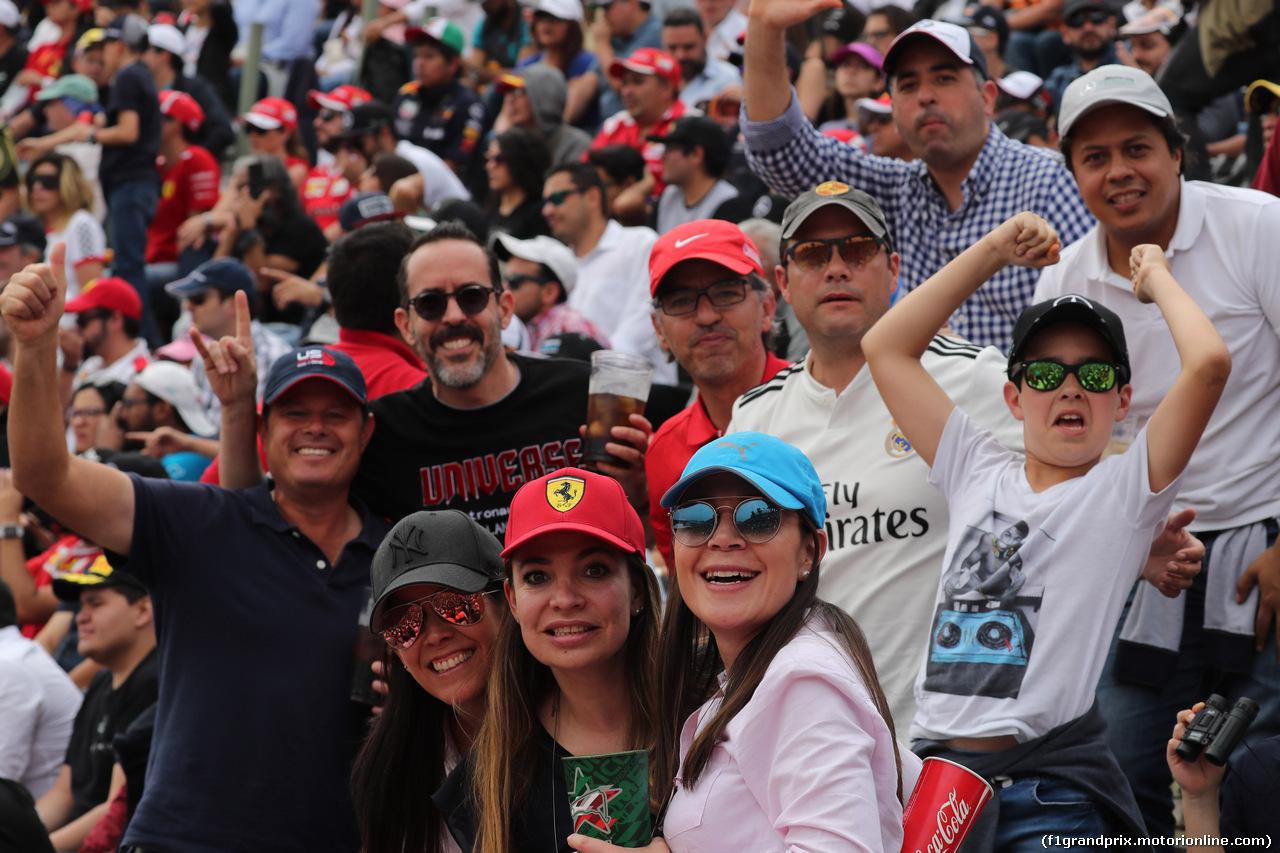 GP MESSICO, 28.10.2018 - Gara, Fans