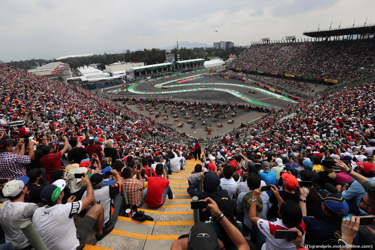 GP MESSICO, 28.10.2018 - Gara, Start of the race