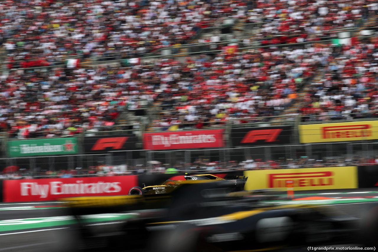 GP MESSICO, 28.10.2018 - Gara, Carlos Sainz Jr (ESP) Renault Sport F1 Team RS18