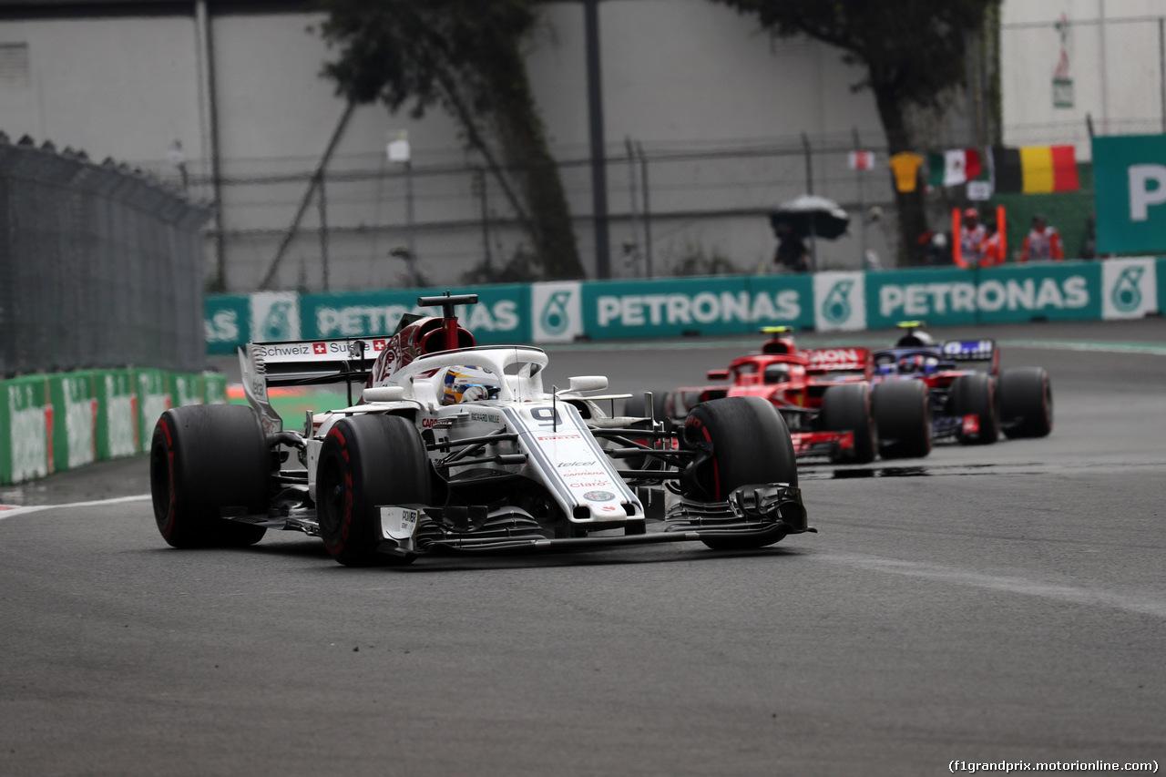 GP MESSICO, 28.10.2018 - Gara, Marcus Ericsson (SUE) Sauber C37