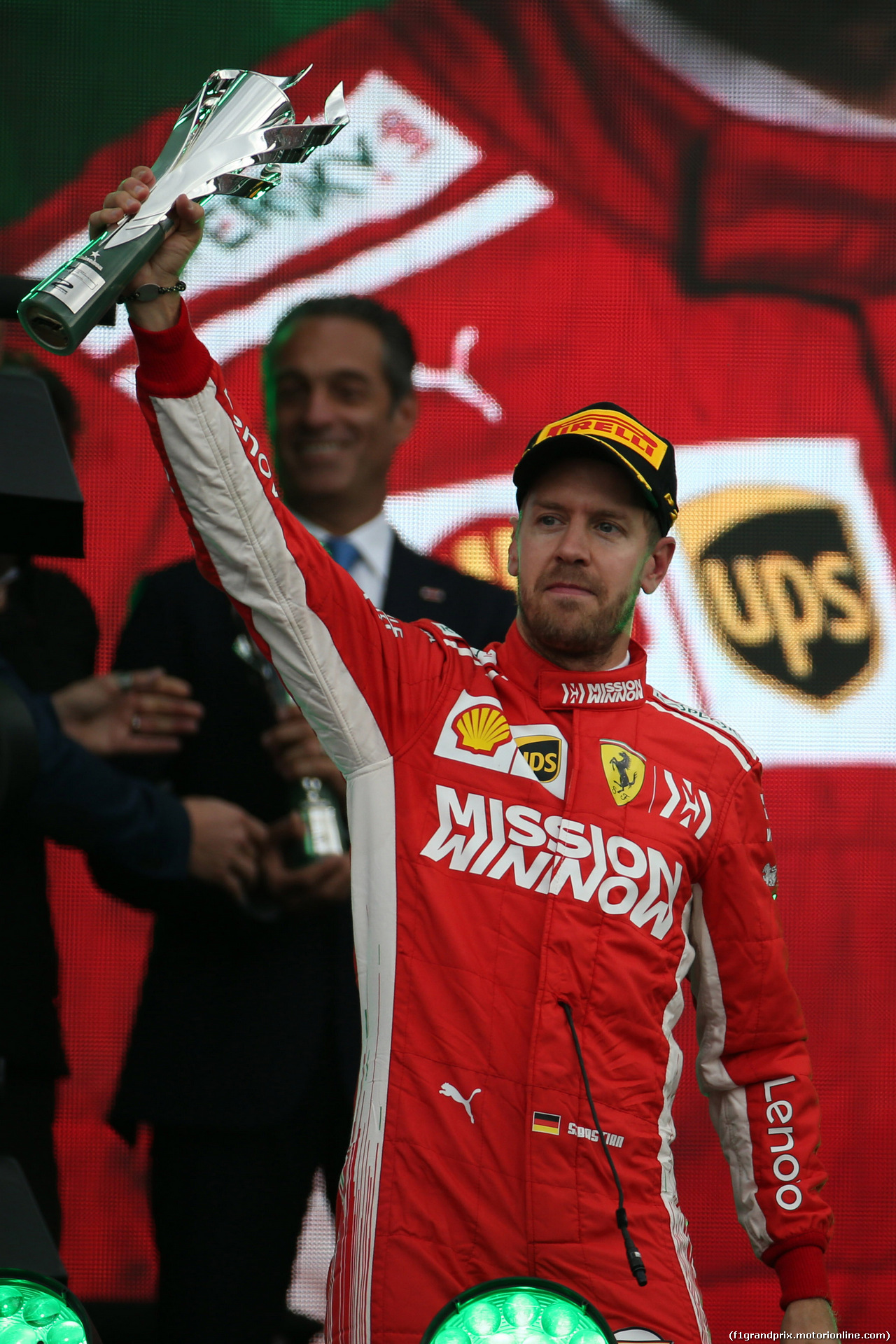 GP MESSICO, 28.10.2018 - Gara, 2nd place Sebastian Vettel (GER) Ferrari SF71H