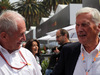 GP MESSICO, 28.10.2018 - Gara, (L-R) Helmut Marko (AUT), Red Bull Racing, Red Bull Advisor