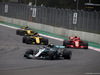 GP MESSICO, 28.10.2018 - Gara, Valtteri Bottas (FIN) Mercedes AMG F1 W09 davanti a Kimi Raikkonen (FIN) Ferrari SF71H