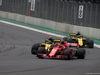 GP MESSICO, 28.10.2018 - Gara, Carlos Sainz Jr (ESP) Renault Sport F1 Team RS18 abd Kimi Raikkonen (FIN) Ferrari SF71H