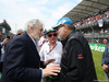 GP MESSICO, 28.10.2018 - Gara, Placido Domingo (MEX) e Sir Jackie Stewart (GBR)
