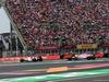 GP MESSICO, 28.10.2018 - Gara, Marcus Ericsson (SUE) Sauber C37 e Sergio Perez (MEX) Racing Point Force India F1 VJM11