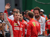 GP MESSICO, 28.10.2018 - Gara, 3rd place Kimi Raikkonen (FIN) Ferrari SF71H e 2nd place Sebastian Vettel (GER) Ferrari SF71H