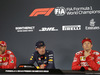 GP MESSICO, 28.10.2018 - Gara, Conferenza Stampa, Sebastian Vettel (GER) Ferrari SF71H, Max Verstappen (NED) Red Bull Racing RB14 e Kimi Raikkonen (FIN) Ferrari SF71H
