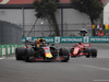 GP MESSICO, 28.10.2018 - Gara, Daniel Ricciardo (AUS) Red Bull Racing RB14 e Sebastian Vettel (GER) Ferrari SF71H