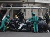 GP MESSICO, 28.10.2018 - Gara, Pit stop, Lewis Hamilton (GBR) Mercedes AMG F1 W09