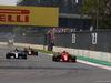GP MESSICO, 28.10.2018 - Gara, Lewis Hamilton (GBR) Mercedes AMG F1 W09 e Kimi Raikkonen (FIN) Ferrari SF71H