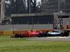 GP MESSICO, 28.10.2018 - Gara, Kimi Raikkonen (FIN) Ferrari SF71H e Lewis Hamilton (GBR) Mercedes AMG F1 W09