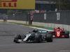 GP MESSICO, 28.10.2018 - Gara, Valtteri Bottas (FIN) Mercedes AMG F1 W09 e Kimi Raikkonen (FIN) Ferrari SF71H