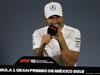 GP MESSICO, 28.10.2018 - Conferenza Stampa, Lewis Hamilton (GBR) Mercedes AMG F1 W09