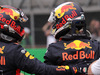 GP MESSICO, 27.10.2018 - Qualifiche, 2nd place Max Verstappen (NED) Red Bull Racing RB14 e Daniel Ricciardo (AUS) Red Bull Racing RB14 pole position