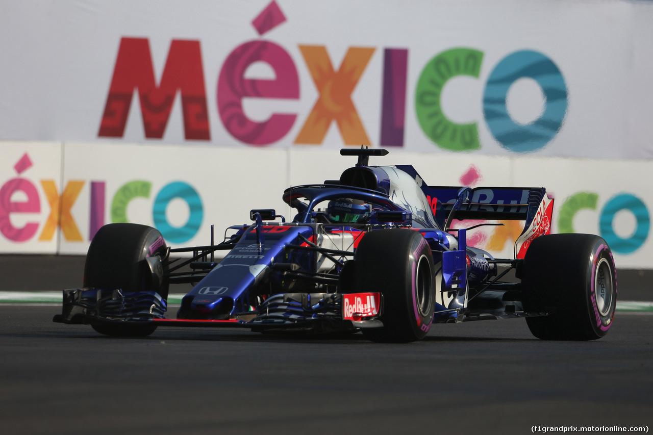 GP MESSICO, 26.10.2018 - Prove Libere 1, Brendon Hartley (NZL) Scuderia Toro Rosso STR13