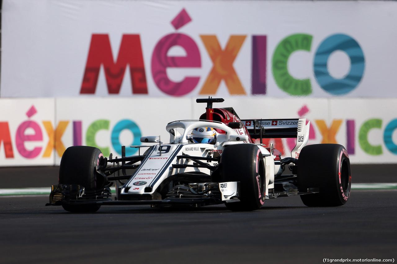 GP MESSICO, 26.10.2018 - Prove Libere 1, Marcus Ericsson (SUE) Sauber C37
