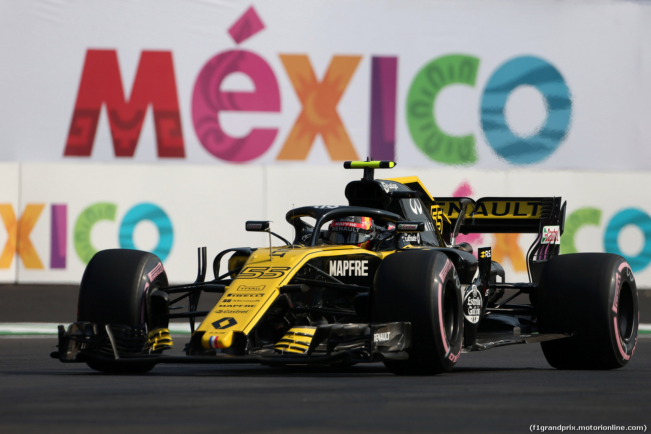 GP MESSICO, 26.10.2018 - Prove Libere 1, Carlos Sainz Jr (ESP) Renault Sport F1 Team RS18