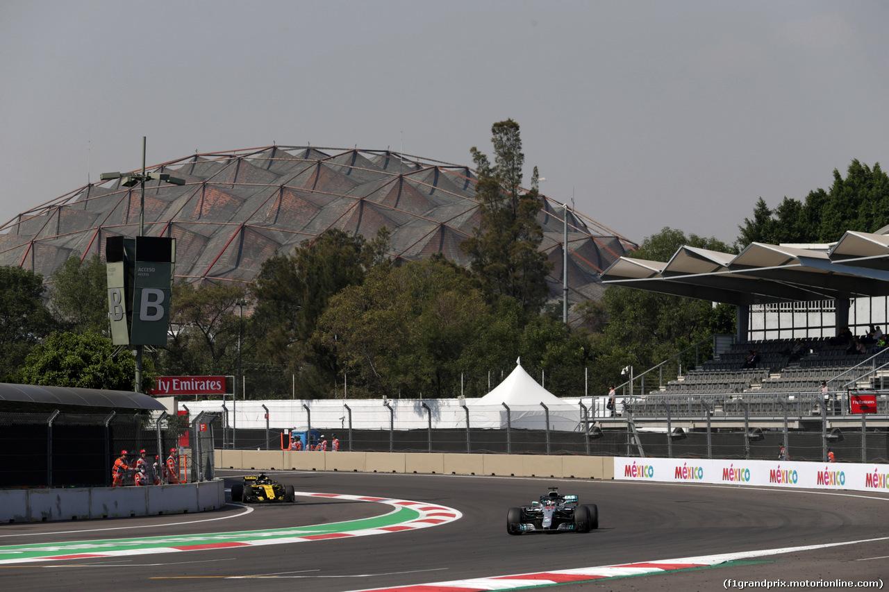 GP MESSICO, 26.10.2018 - Prove Libere 1, Lewis Hamilton (GBR) Mercedes AMG F1 W09