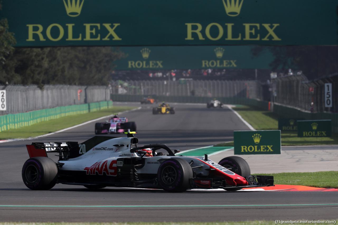GP MESSICO, 26.10.2018 - Prove Libere 1, Kevin Magnussen (DEN) Haas F1 Team VF-18