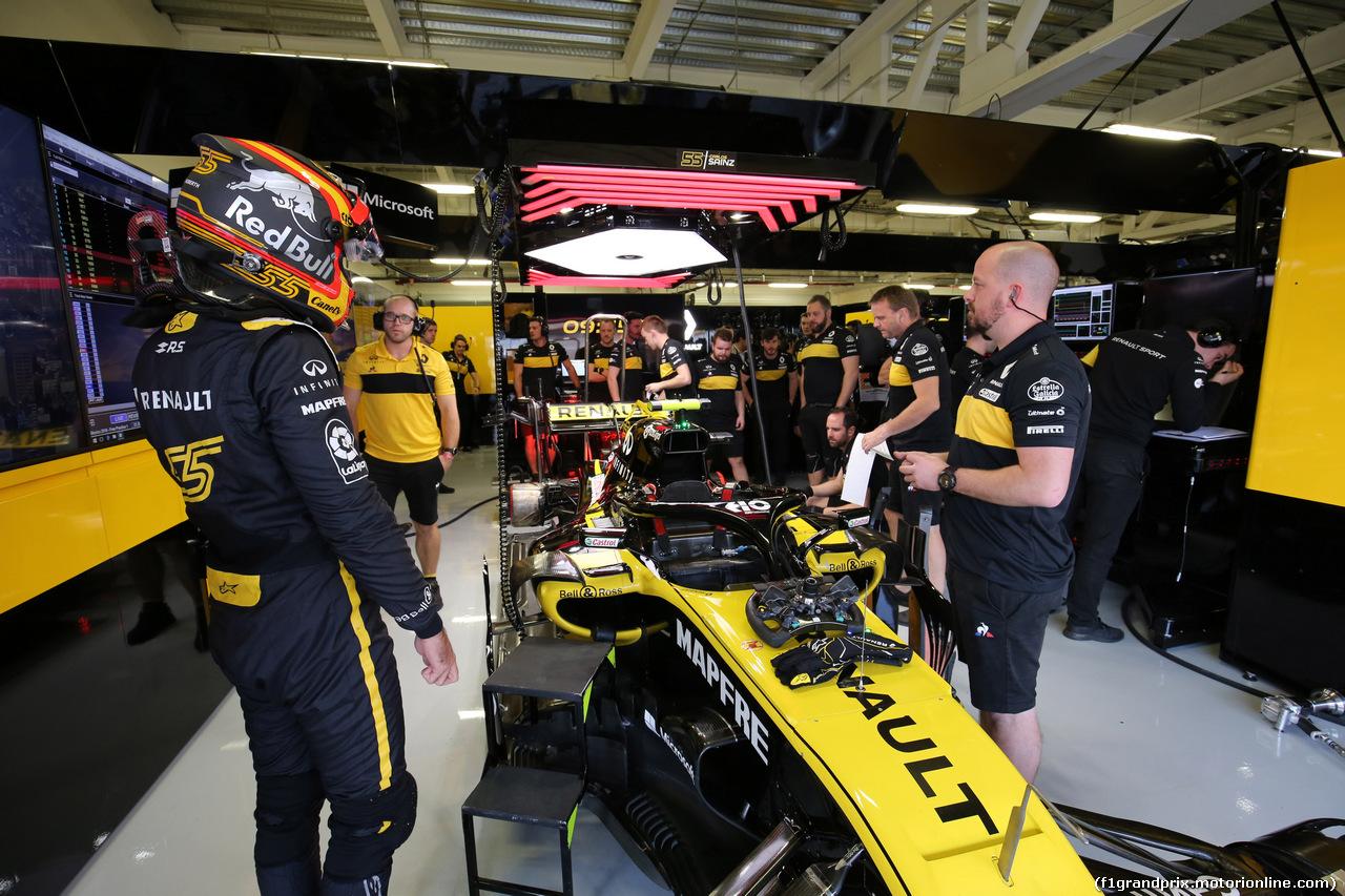 GP MESSICO, 26.10.2018 - Prove Libere 1, Carlos Sainz Jr (ESP) Renault Sport F1 Team RS18