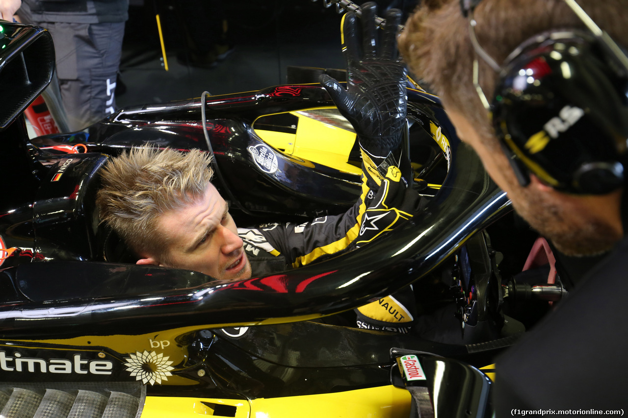 GP MESSICO, 26.10.2018 - Prove Libere 1, Nico Hulkenberg (GER) Renault Sport F1 Team RS18