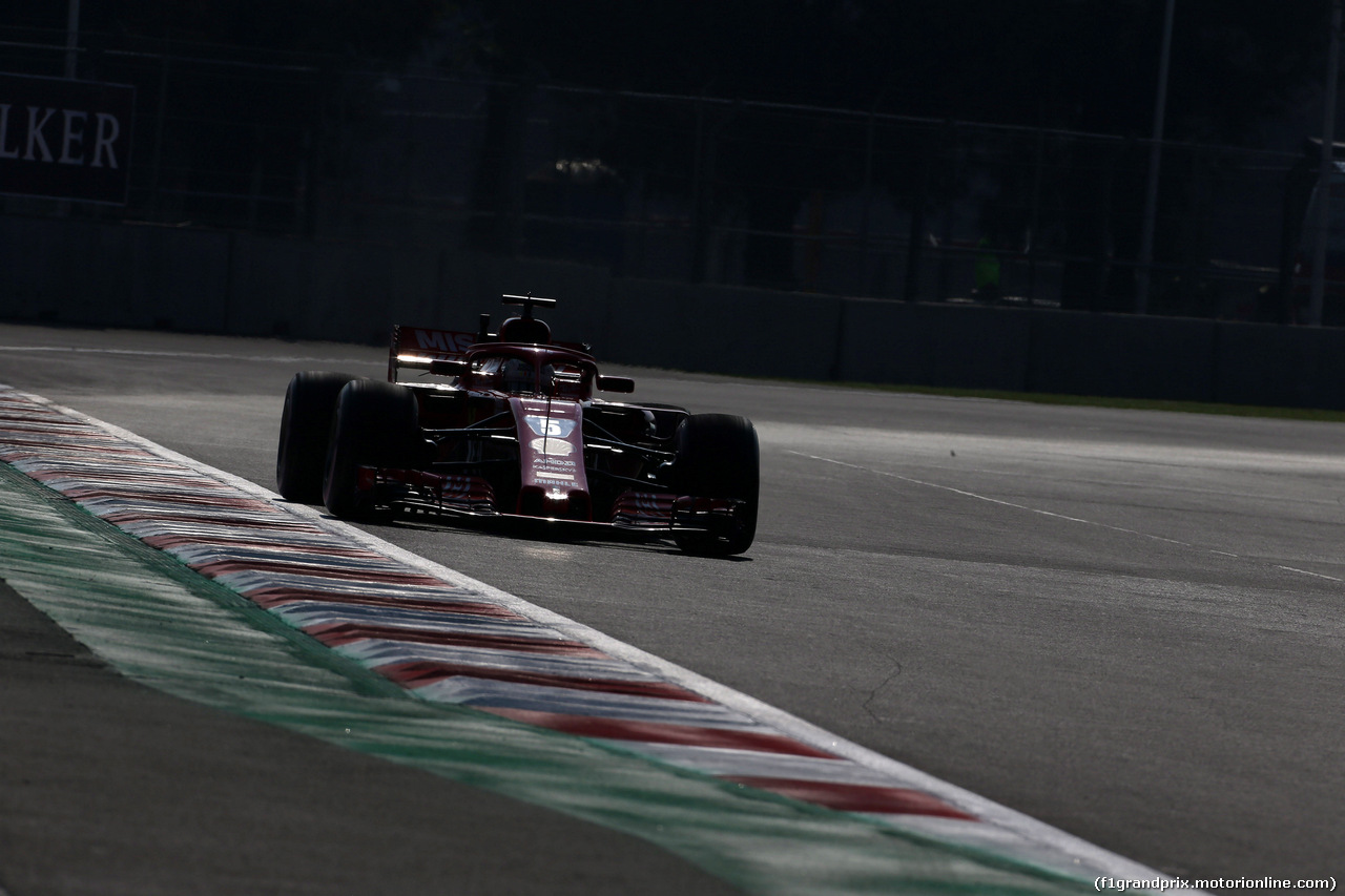 GP MESSICO, 26.10.2018 - Prove Libere 1, Sebastian Vettel (GER) Ferrari SF71H