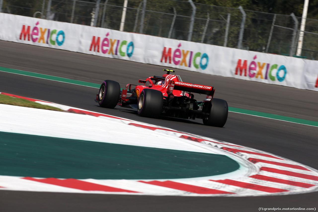 GP MESSICO, 26.10.2018 - Prove Libere 1, Kimi Raikkonen (FIN) Ferrari SF71H