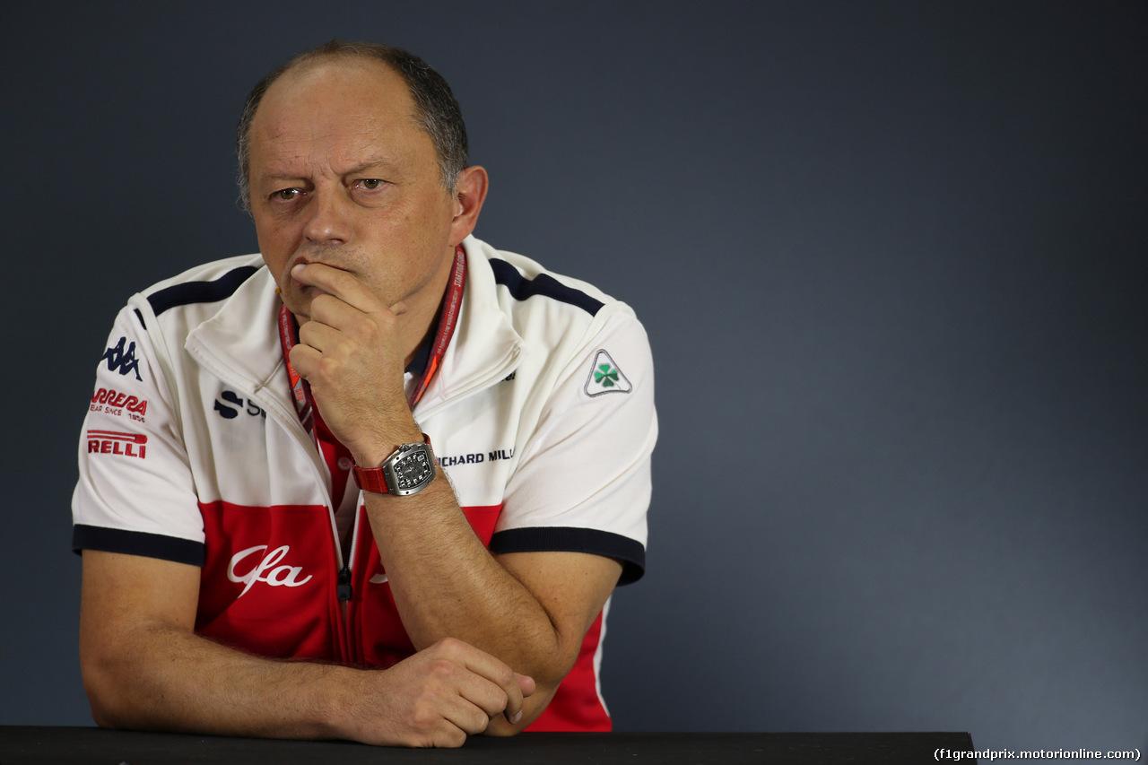 GP MESSICO, 26.10.2018 - Conferenza Stampa, Frederic Vasseur (FRA) Sauber Team Principal