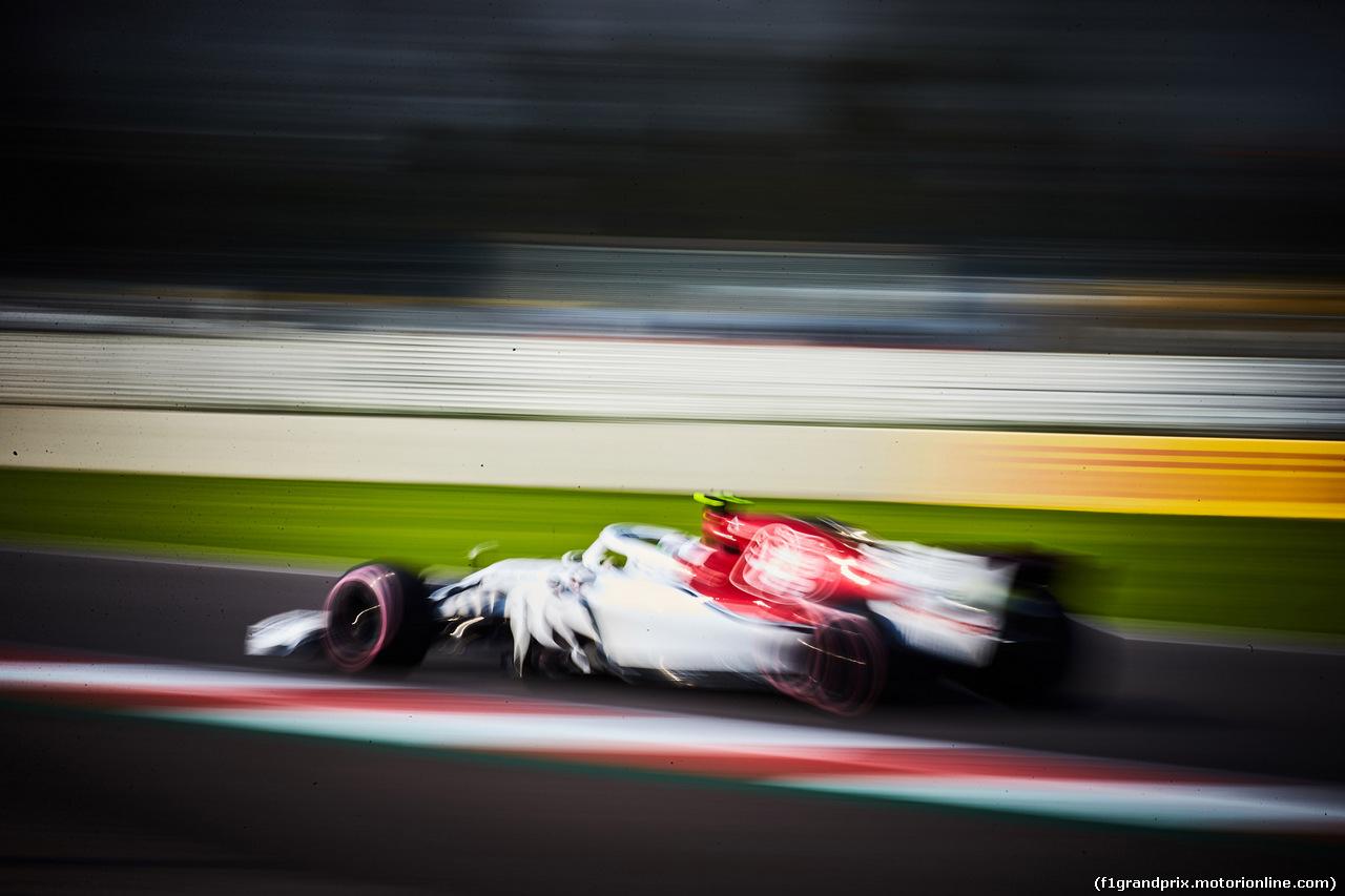 GP MESSICO, 26.10.2018 - Prove Libere 1, Antonio Giovinazzi (ITA) Test Driver Sauber C37