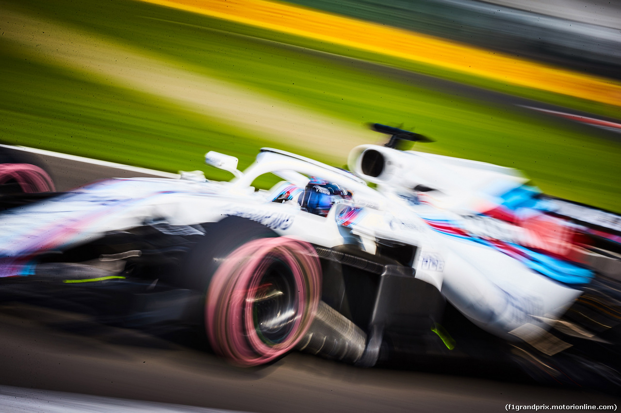 GP MESSICO, 26.10.2018 - Prove Libere 1, Lance Stroll (CDN) Williams FW41