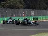 GP MESSICO, 26.10.2018 - Free Practice 1, Valtteri Bottas (FIN) Mercedes AMG F1 W09 davanti a Lewis Hamilton (GBR) Mercedes AMG F1 W09