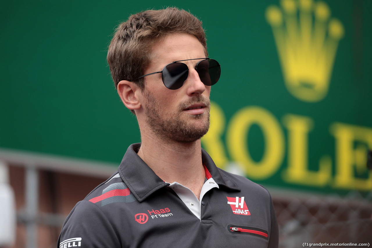 GP MONACO, 27.05.2018 - Romain Grosjean (FRA) Haas F1 Team VF-18