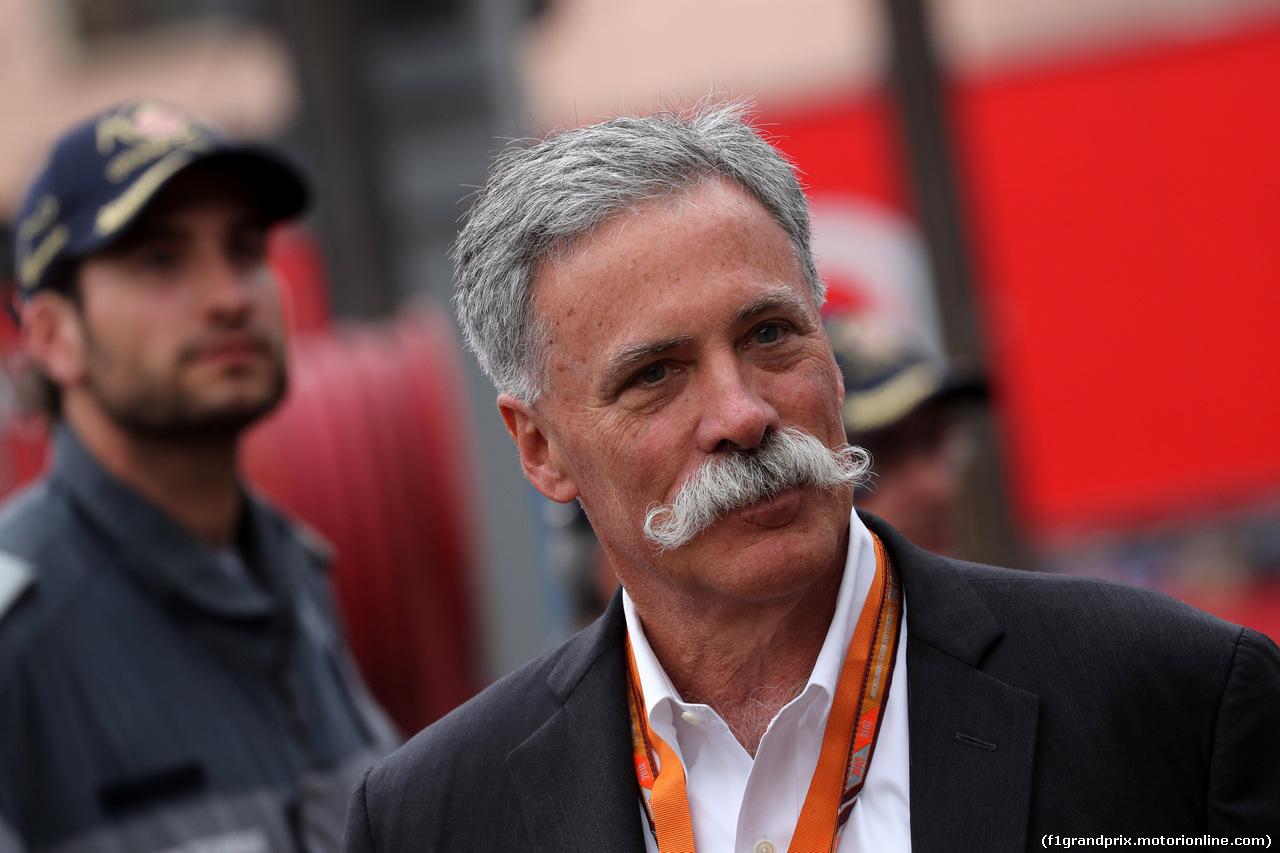 GP MONACO, 27.05.2018 - Gara, Chase Carey (USA) Formula One Group Chairman