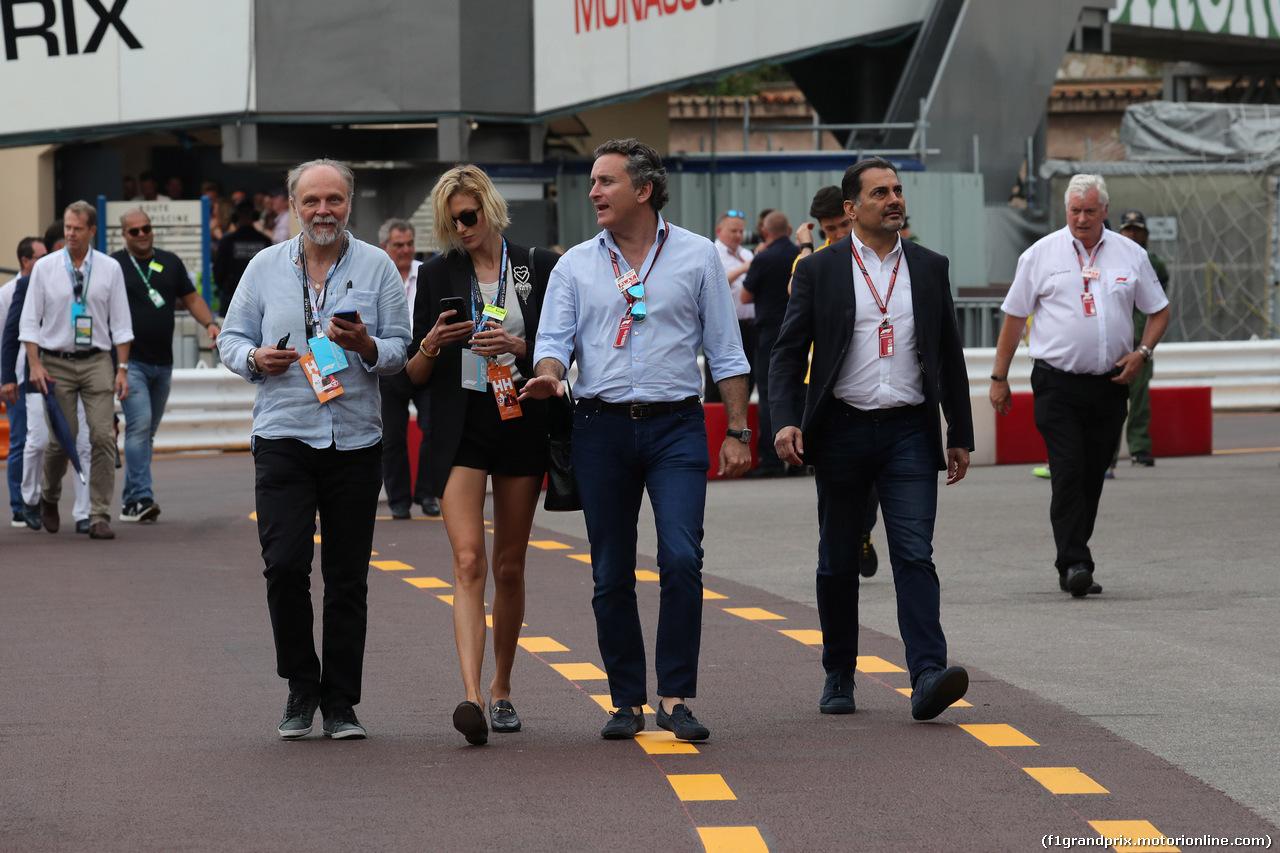 GP MONACO, 27.05.2018 - Gara, Alejandro Agag (ESP) CEO Formula E