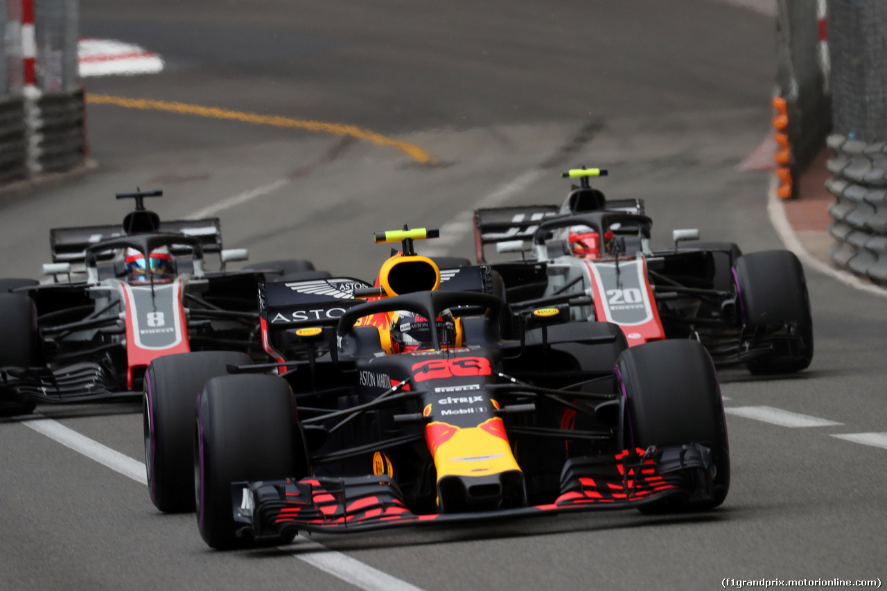 GP MONACO, 27.05.2018 - Gara, Max Verstappen (NED) Red Bull Racing RB14