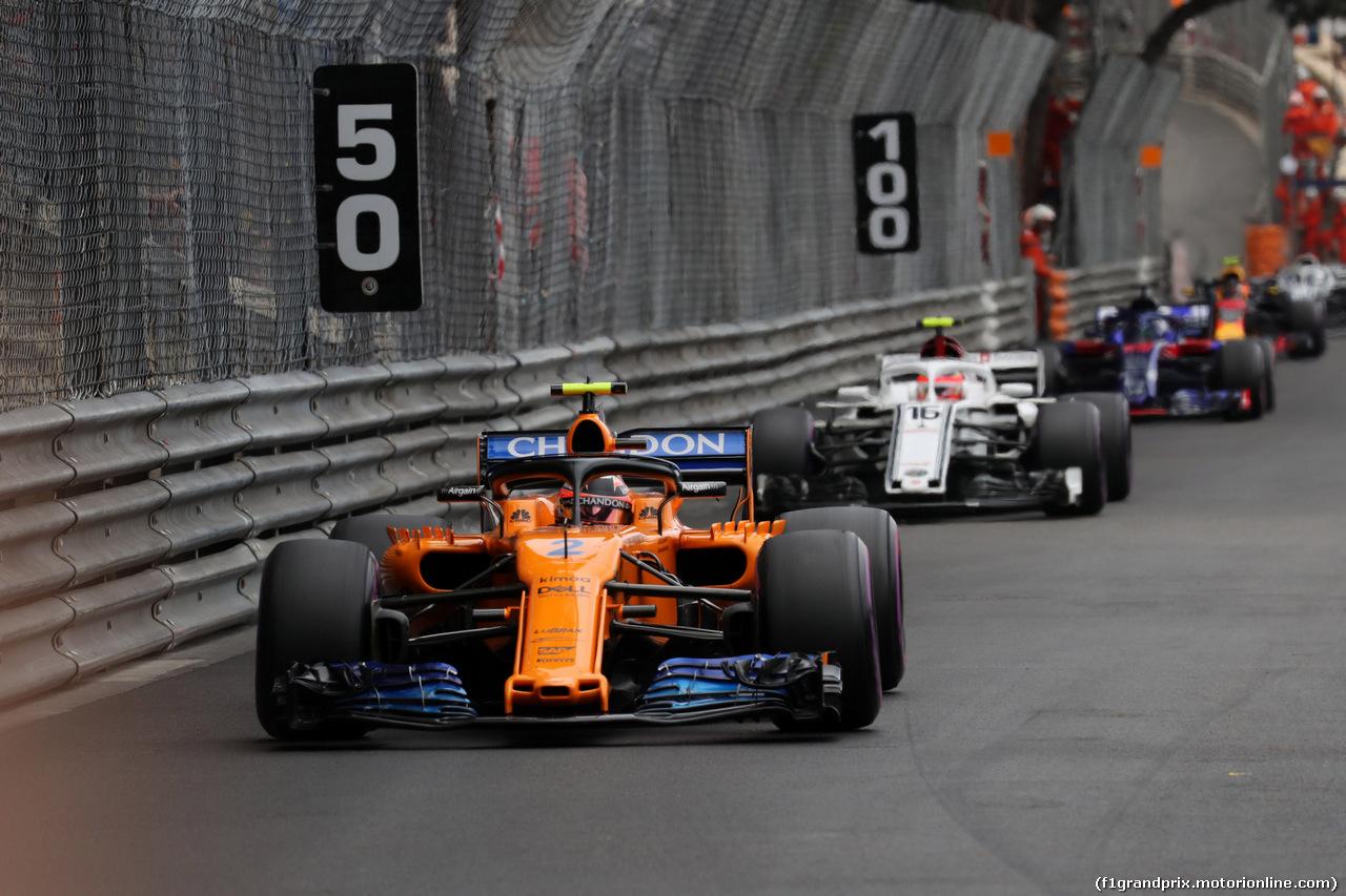 GP MONACO, 27.05.2018 - Gara, Stoffel Vandoorne (BEL) McLaren MCL33